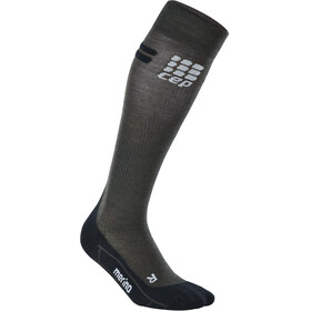cep Run Merino Socks Men anthracite/black